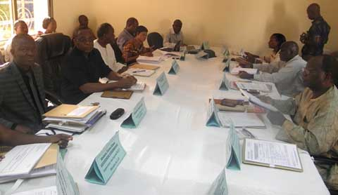 Contrôle de la qualité des produits sur le marché: Les membres du conseil d'administration de l'A.B.NOR.M installés