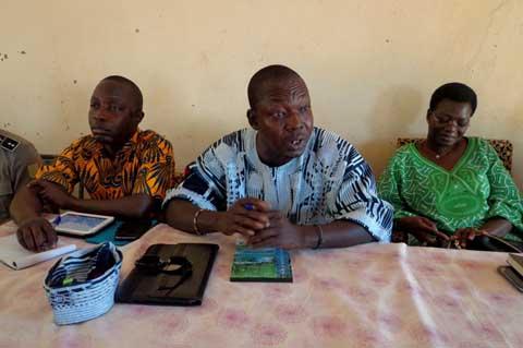 Dialogue social au Sanguié: coutumiers et magistrats se parlent.