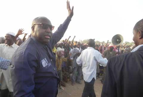 Elections municipales partielles: Immenses mobilisations lors des meetings UPC à Bagré et  à Yamba