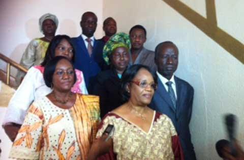 Assemblée nationale: le Médiateur du Faso remet son rapport 2012 à Soungalo Ouattara