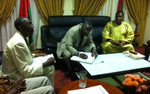 Déclaration des biens de personnalités publiques: Les maires en parlent avec le président du Conseil constitutionnel