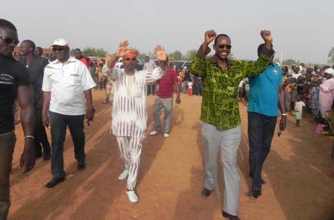 Arrondissement 4 de Ouagadougou: L'UPC boucle sa campagne avec une caravane et un meeting