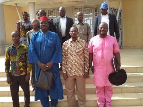 Association ''le Burkina Nouveau'': Une délégation dans les Cascades pour prôner la paix