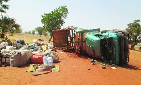 AXE OUAHIGOUYA-TITAO:  Un accident fait 26 blessés dont 12 graves