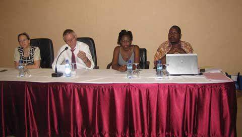 Influence des jeunes en politique: 48 jeunes de quatre pays en formation à Ouagadougou