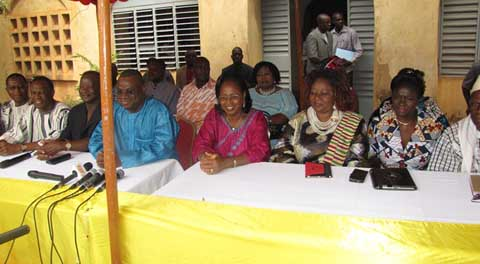 Le Secrétariat exécutif du CDP chez le Baloum Naba: Un rendez-vous  d'éloges