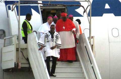 Religion: le Cardinal Philippe Ouédraogo de retour à Ouagadougou