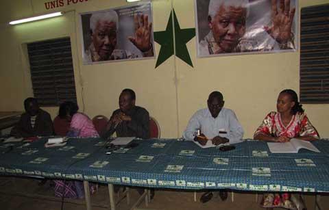 Situation politique nationale: Le PDS/Metba situe ses militants sur sa position