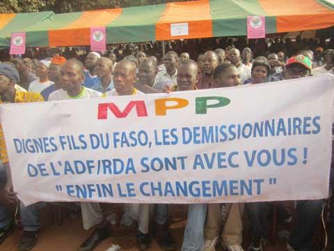 Meeting du MPP à Bobo: Coulisses et quelques réactions de militants