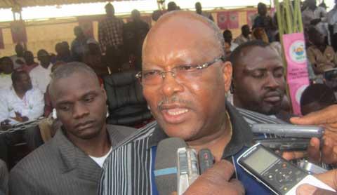 Rock Marc Christian Kaboré au meeting du MPP à Bobo: «Le changement est devenu une nécessité»