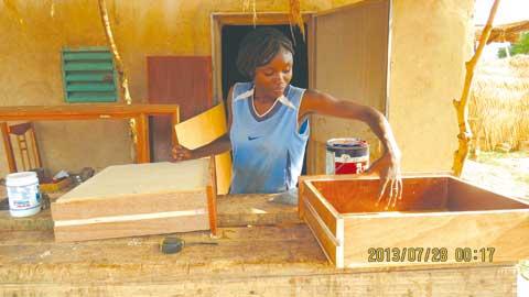 Delwendé Zenabo Yédan née Ilboudo: Une brave  dans le «fief» des hommes