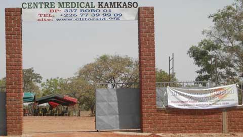 Inauguration anticipée de l'hôpital Kamkasso: Chantal Compaoré n'était pas à la «fête du plaisir»