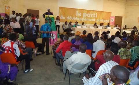 Le MPP à Manga: Test de mobilisation réussi en attendant le grand meeting