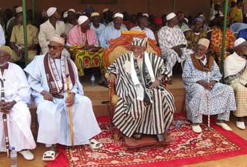 Bobo: Des chefs coutumiers réitèrent leur confiance à Blaise Compaoré