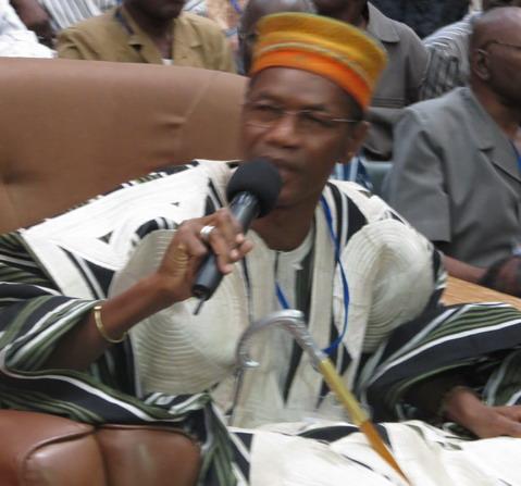 Meeting du MPP à Ouahigouya: Le Larlé Naaba Tigré a donc fini par descendre dans la boue!