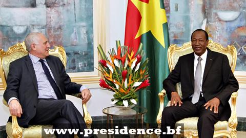 Saïd Djinnit discute de la paix au Sahel avec Blaise Compaoré