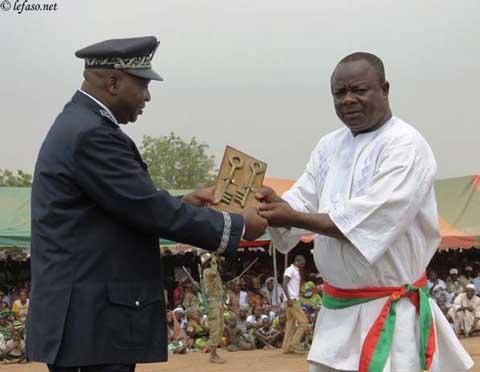 Arrondissement n°4 de Ouagadougou: Anatole Bonkoungou réinstallé dans ses fonctions de maire