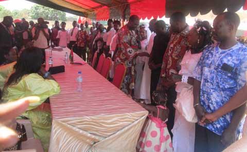Arrondissement N°7 de Bobo: 75 couples régularisent leur situation matrimoniale