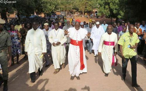 Religion: La paroisse de Toma accueille le premier pèlerinage national des jeunes
