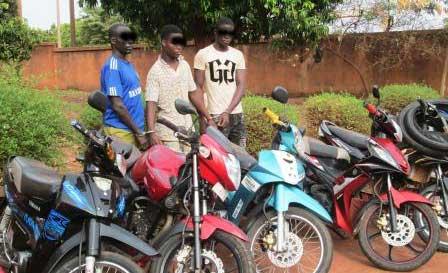 Criminalité à Bobo: Des présumés voleurs d'engins aux arrêts