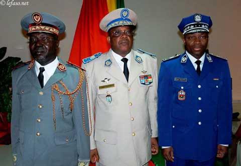 Armée nationale: Les nouveaux Généraux reçoivent leurs galons