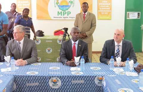 L'ambassadeur des USA au Burkina rend visite au MPP