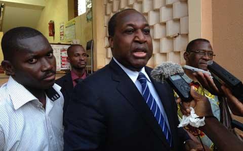 Visite du CFOP au Ministre de la Santé: le «coup de comm» de Zéphirin Diabré
