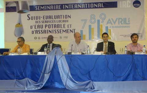 Séminaire international sur le suivi-évaluation des services d'eau et d'assainissement: Pari réussi pour les organisateurs.