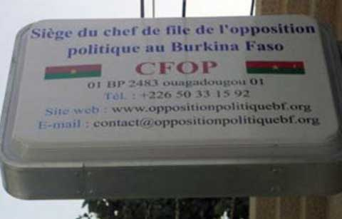 Mort accidentelle de 24 Burkinabè  au Togo : La compassion du CFOP