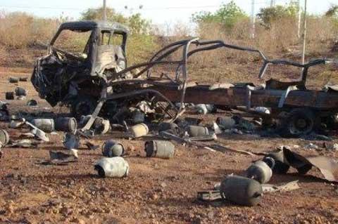 CENTRE NORD BAM: Explosions de bouteilles de gaz butane:un blessé grave et de nombreux dégâts matériels