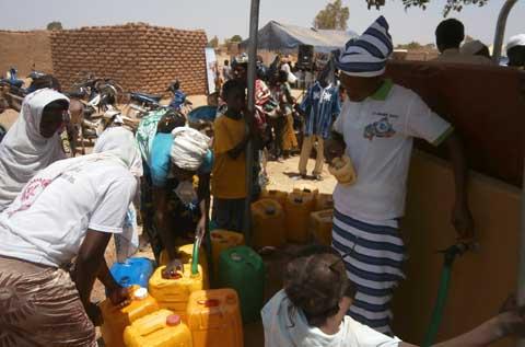 Difficultés d'accès à l'eau potable: WaterAid vole au secours de la population de Balkuy