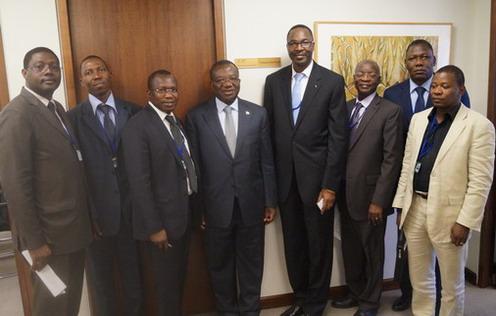 Lucien Bembamba: «Le FMI et la Banque Mondiale ont apprécié positivement  les mesures prises par le Gouvernement pour davantage partager les fruits de la croissance»