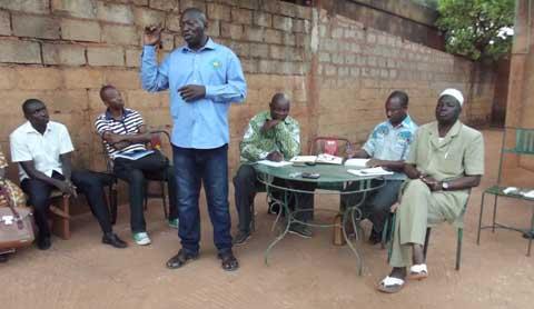 MPP: Une délégation des secteurs structurés à Bobo