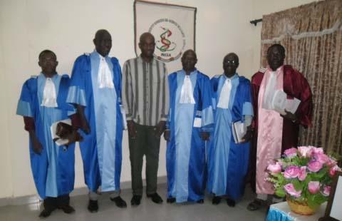 Soutenance de thèse en parasitologie médicale: Mention très honorable et félicitation du jury pour Ibrahim Sangaré