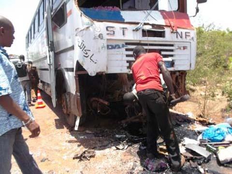 Bobo: un accident fait 5 morts, 41 blessés