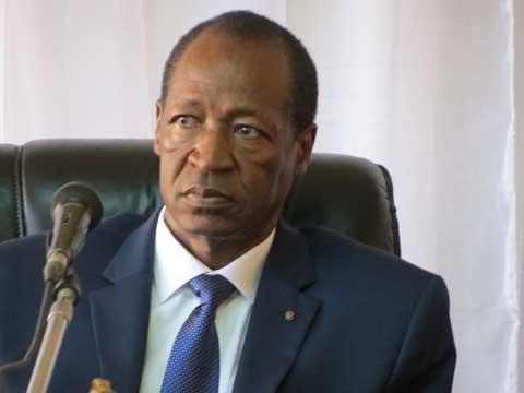 Blaise Compaoré aux producteurs de Bagré: «Nous sommes venus pour vous encourager»