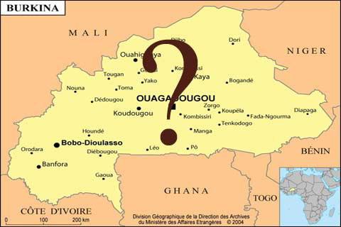 Prière en faveur de la paix au Burkina Faso