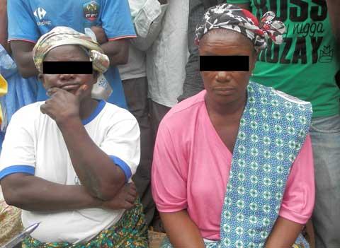 Village Kuinima de Bobo: Deux présumées sorcières arrêtées
