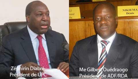 Libéraux du Burkina: L'UPC et l'ADF/RDA vers un rapprochement?
