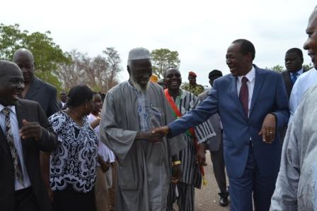 Président du Faso en route pour Koudougou: Bain de foule à Tanghin Dassouri, Poa, Kokologho et à Ramongo