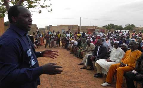 UPC/Ouagadougou: Zéphirin DIABRE rencontre les militants du secteur 52