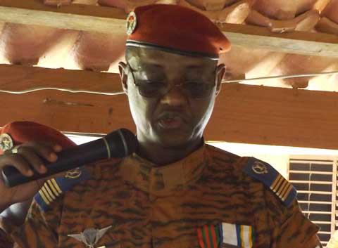 Camp k11/78: Le colonel Jean Arthur Idriss DIASSO aux commandes