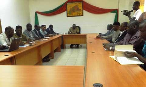 Situation nationale: Des représentants d'Ambassadeurs africains à la rencontre de l'opposition politique burkinabè