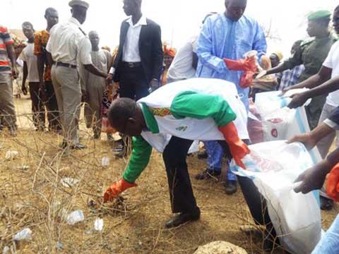 Dori: Lancement du Projet traitement et valorisation des déchets plastiques non-biodégradables