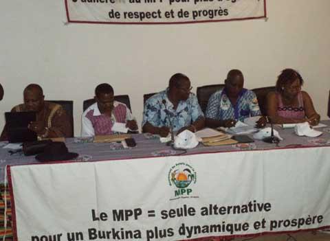 Banfora: Le MPP à la rencontre de ses militants des Cascades