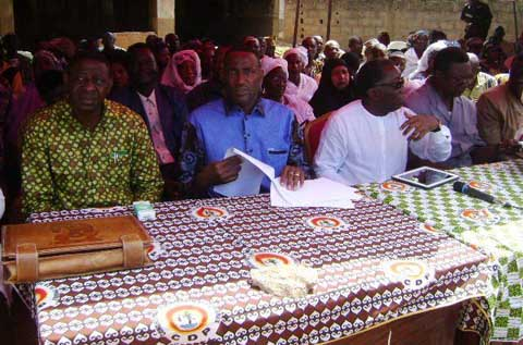 Comoé: Le CDP prépare ses militants pour le référendum