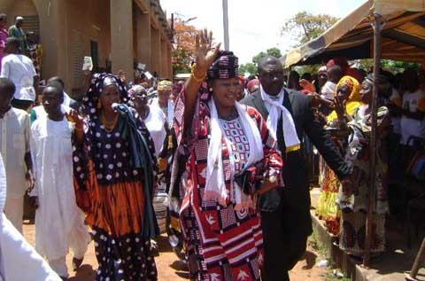 Banfora: Saran SEREME en campagne contre le référendum