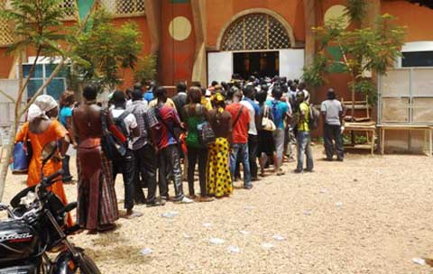 Concours de la Fonction publique «M.Vincent ZAKANE, nous ne voulons plus de fraude»