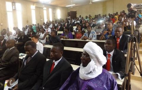Université Ouaga II: 600 juristes d'affaires sur le marché de l'emploi