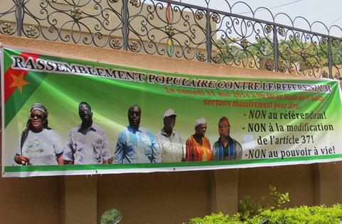 Opposition politique: Appel à la contribution des Burkinabè